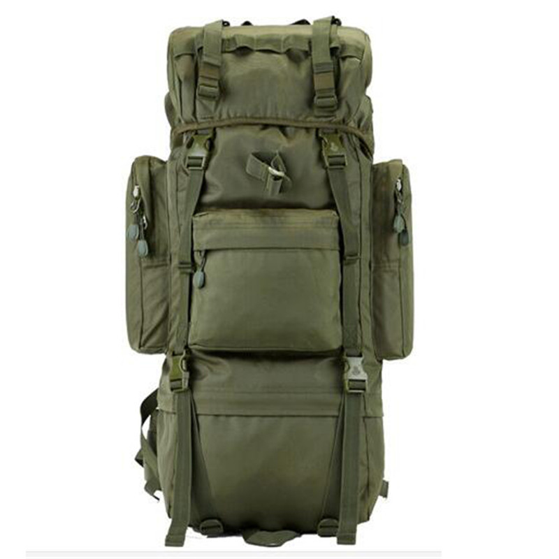 8772062beba13 Męskie torby nylon 65 l duża armia plecak bardzo odpornym przed  zniszczeniem wysokiej klasy torba duża pojemność plecak wodoodporny plecak  na laptopa