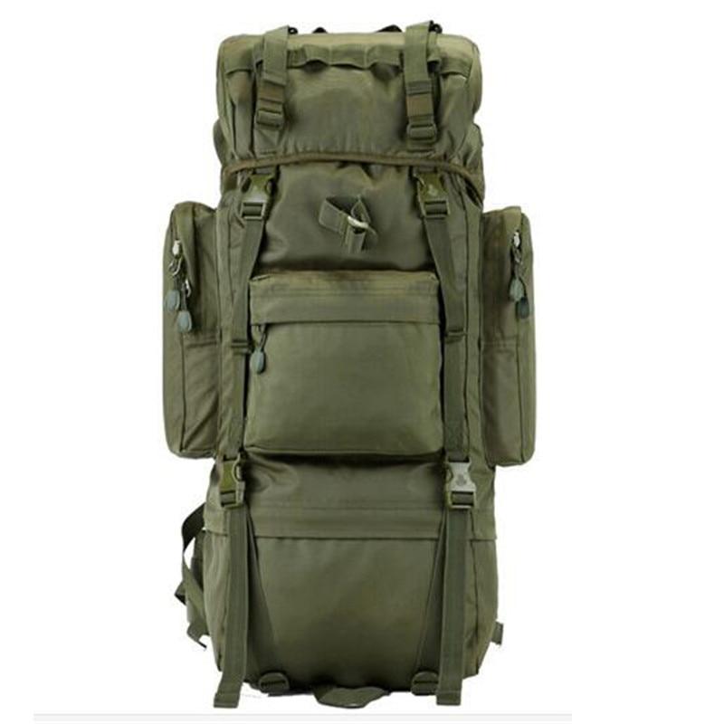 Men's bags nylon 65 l big army backpack super bag huge capacity backpack waterproof laptop backpack wearproof high grade