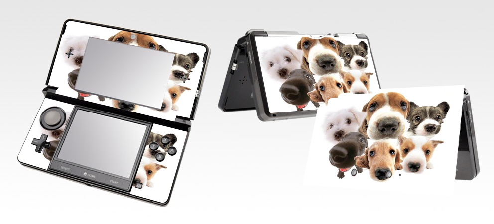 DOG 301 Vinyl Skin Sticker Protector For Nintendo 3DS Skins Stickers In  Stickers From Consumer Electronics On Aliexpress.com | Alibaba Group
