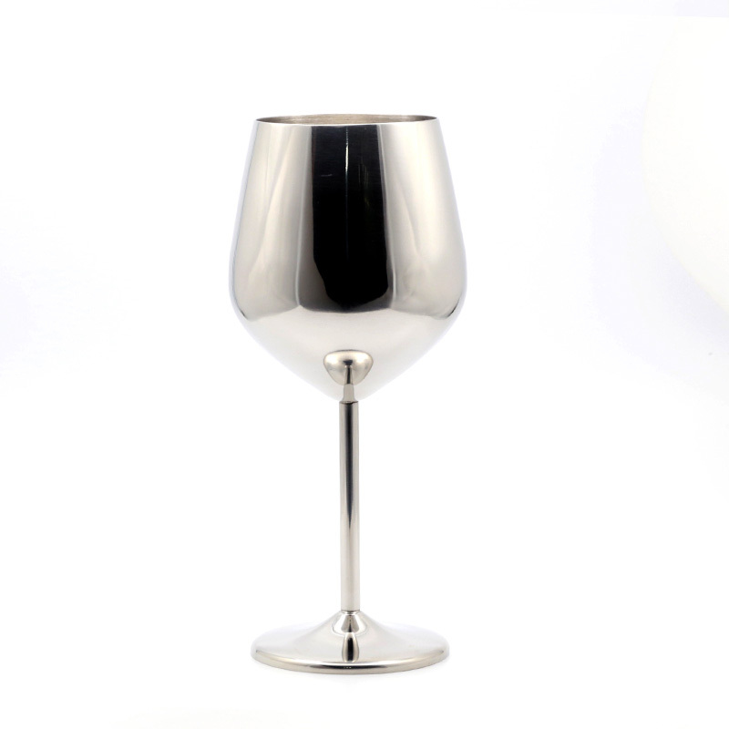 High Fashion Stainless Steel 1 Pc Metal Wine Goblet Stem Red Wine