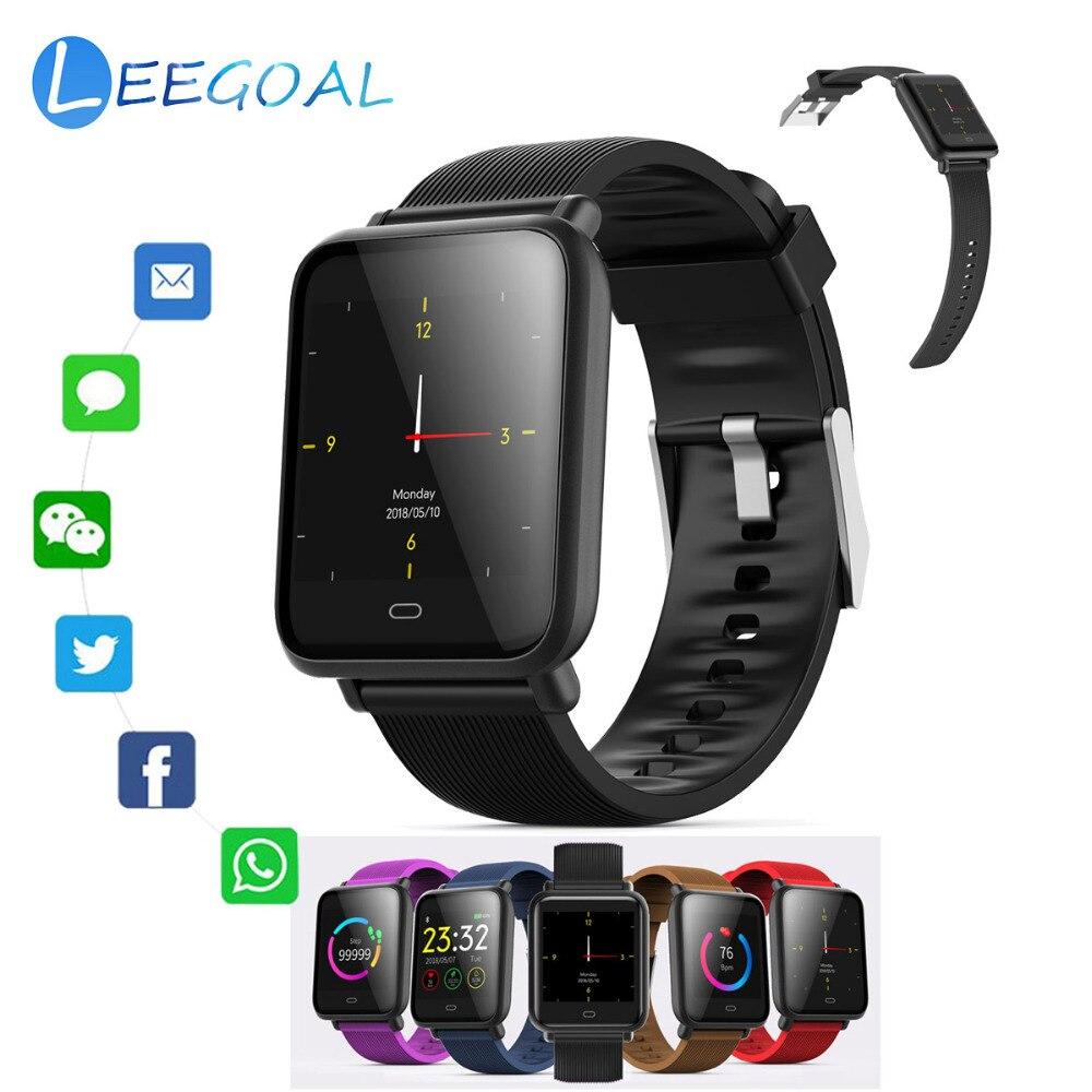 Smart watch Q9 Large Color Screen Multi sports Mode Sport Smart Bracelet Waterproof Heart Rate Blood