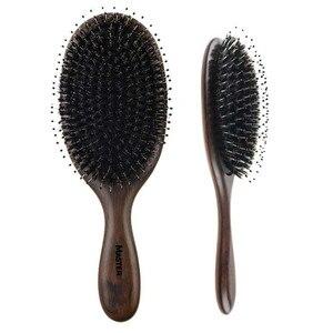 Image 4 - Профессиональная расческа для волос Sandalwood, Антистатическая щетка для волос, для ухода за здоровьем, для укладки волос