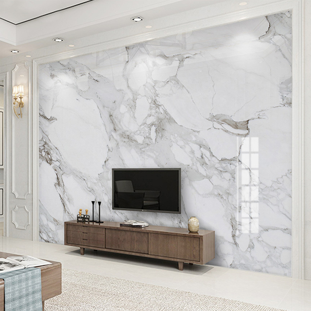 wall sofa beds under 100 custom 3d mural wallpaper high definition sir white marble cloth living room tv background home decor fresco