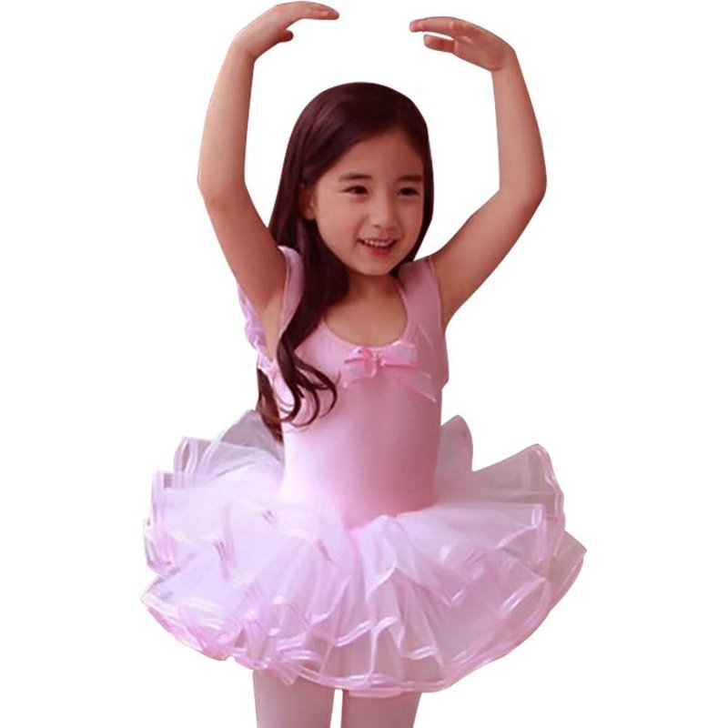 2017 Lace Ballet Dance Dress For Girls Kids Party Ballet Tutu dress Children Ballerina Dancewear Princess Ballet Costumes  PY8 new girls ballet costumes sleeveless leotards dance dress ballet tutu gymnastics leotard acrobatics dancewear dress