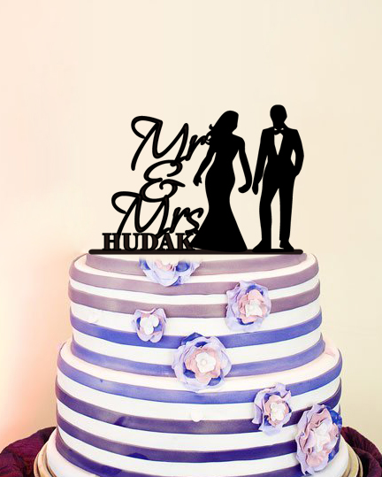 font b Cake b font font b Toppers b font for Weddings Bride and Groom
