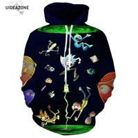 New Fashion Rick And Morty Hoodies Men Women 3D Sweatshirt Sudadera Hombre Casual Brand Pullovers Male