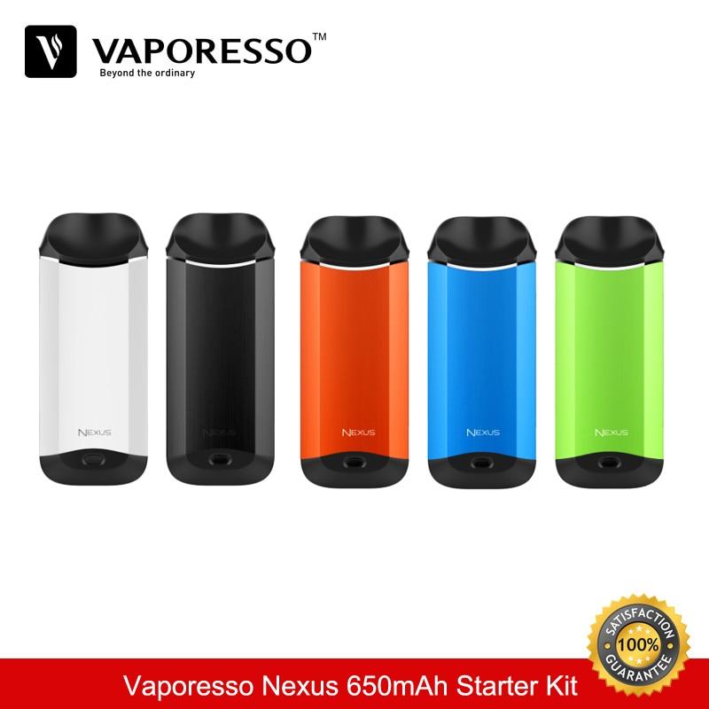 En stock cigarette electronique Vaporesso Nexus 650 mAh Starter Kit Vaporisateur 2 ML Capacité Tout-en-Un Kit vaporisateur VS Eleaf ijust s