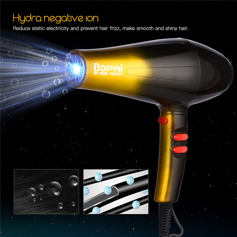 High Power 4000W Professional Hair Dryers For Hairdresser ...