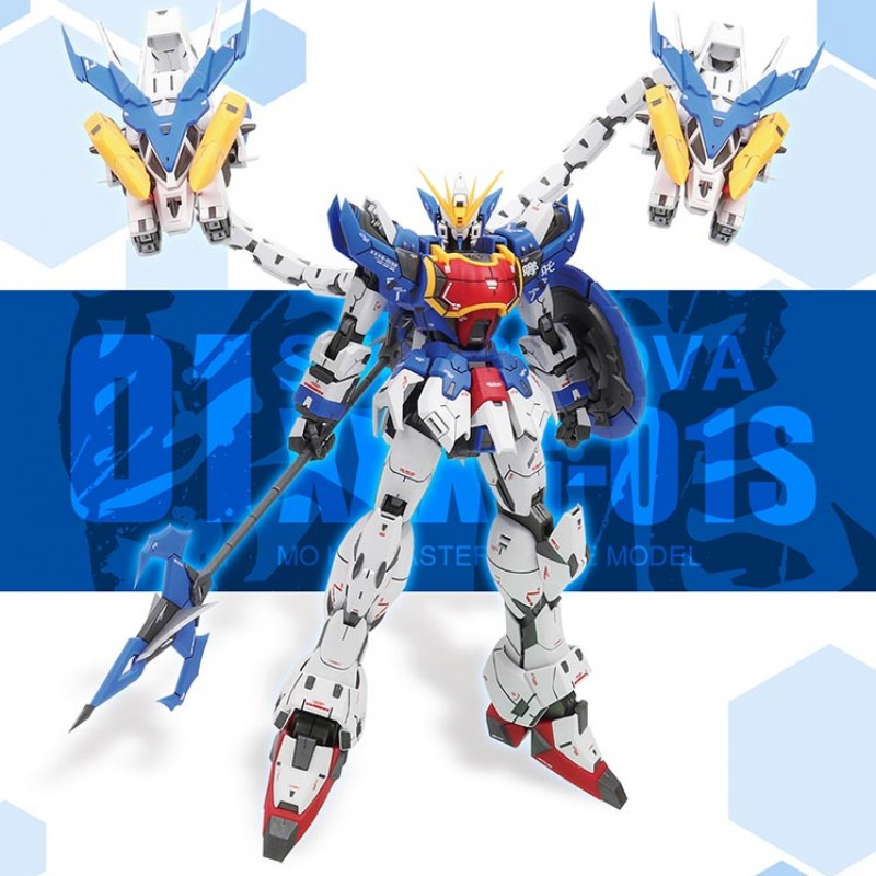 CMT In Stock Super Nova MG 1/100 Altron Nataku XXXG-01S Mo Kai Custom Mobile Suit Anime Model Kit daban 1 100 mg wing zero ew endless waltz xxxg 00w0 assembly model kit mobile suit not included display stand