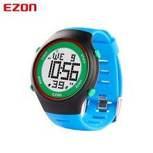 Бесплатная доставка EZON спорт на открытом воздухе электронные часы в течение 24 часов индикатор тревоги многофункциональный мужская Синий Цифровой Наручные Часы