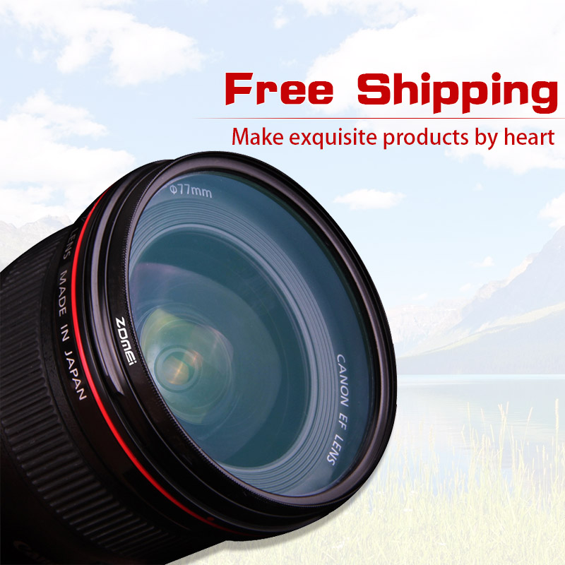 Circular Polarizer Multithreaded Glass Filter Multicoated 82mm for Canon EOS 77D C-PL