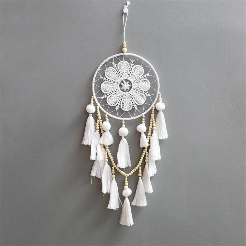 Handmade Dream Catcher Wind Chimes Home Hanging Craft Gift Dreamcatcher Decoration Ornament Car Hanging Decoration