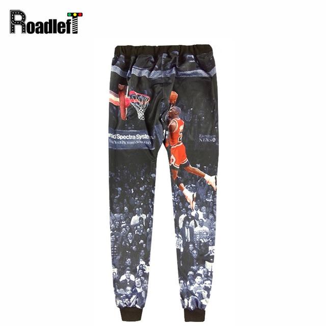 Мужчины и мальчик 3D Иордания emoji бегунов брюки Мужские повседневные брюки тощие тренировочные брюки человек хип-хоп штаны шаровары спортивные штаны