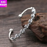 bracelet bangle for women 925 sterling silver bangle statement bracelet cross