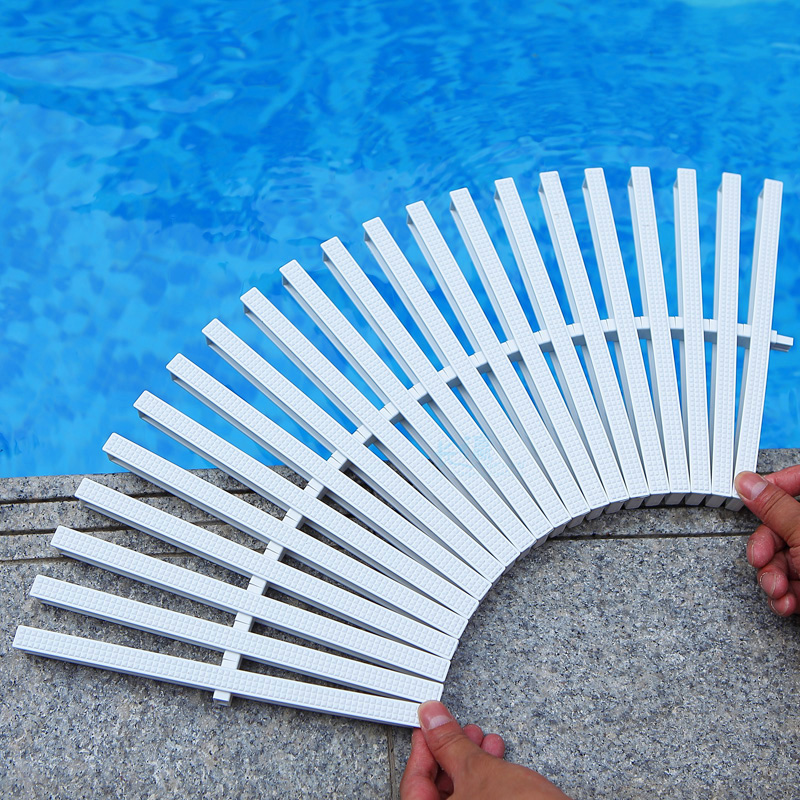 25 meter Swimming pool grid water grid slip resistant grating sink bargeboard drain cover