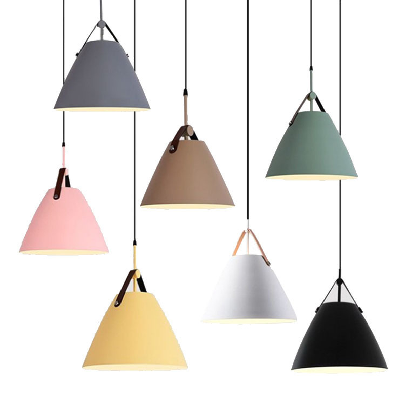 Modern Nordic Minimalist Macaroon Hanging Lights Bar Living Room Dining Room Cafe Bar Hanglamp Fixtures Restaurant Pendant LightModern Nordic Minimalist Macaroon Hanging Lights Bar Living Room Dining Room Cafe Bar Hanglamp Fixtures Restaurant Pendant Light