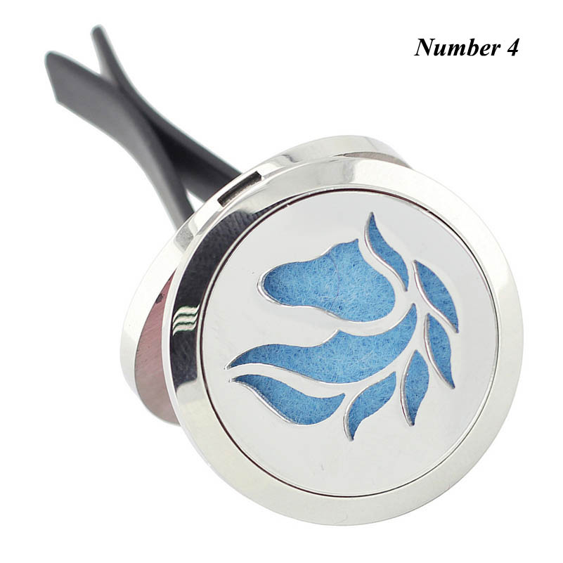 2017 Hot New Horse Shape (30mm) Diffuser 316L Stainless Steel Car Aroma Locket Free Pads Essential Oil Car Diffuser Lockets