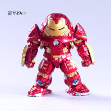 цены New Hot TheAvengers Iron Man Action Figure Model 9cm Iron Man Doll PVC ACGN figure Toy Brinquedos Anime kids Toys
