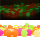 10Pcs/lot Bounce Balls Glow in the Dark Toys for Kids Bouncing Ball Outdoor Game Toys for Children Party Decoration Gift