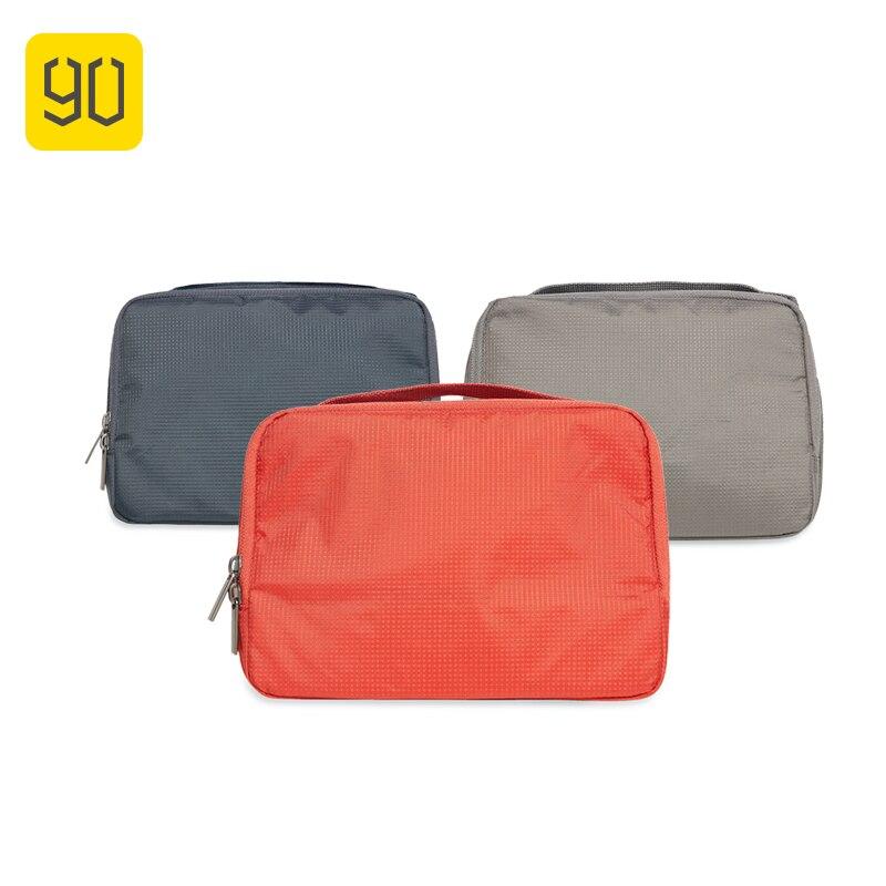 90FUN Portátil À Prova D' Água Saco de Lavagem Organizador Mulheres Maquiagem Cosméticos de Higiene Pessoal kit de Viagem bagagem Acessórios de Viagem de Férias