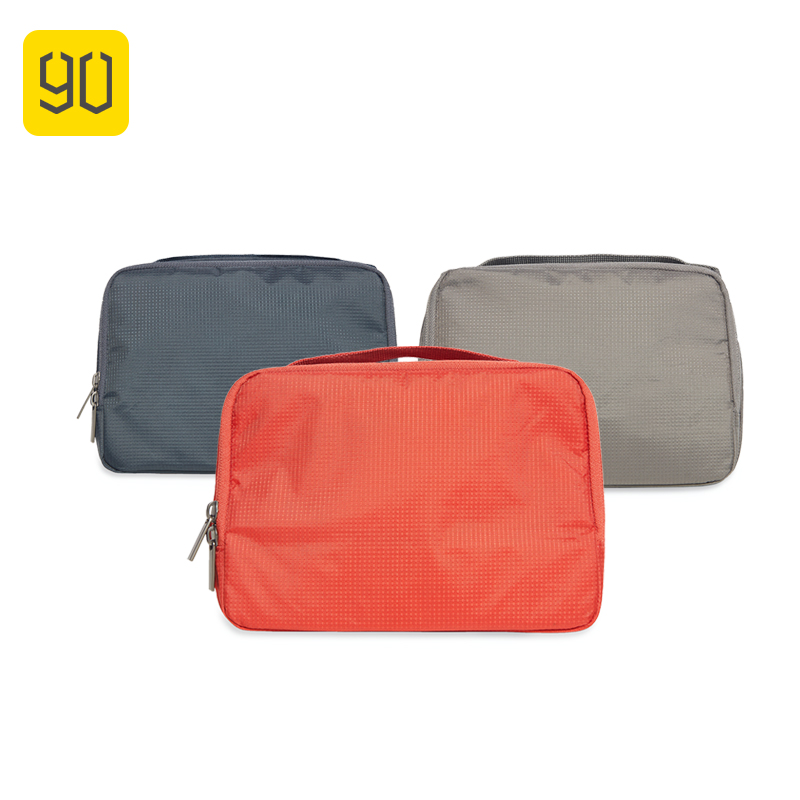 d7460069dc97 US $7.99 20% OFF|Xiaomi 90FUN Waterproof Portable Wash Bag Women Makeup  Organizer Cosmetics Toiletry kit luggage Travel Trip Vacation  Accessories-in ...