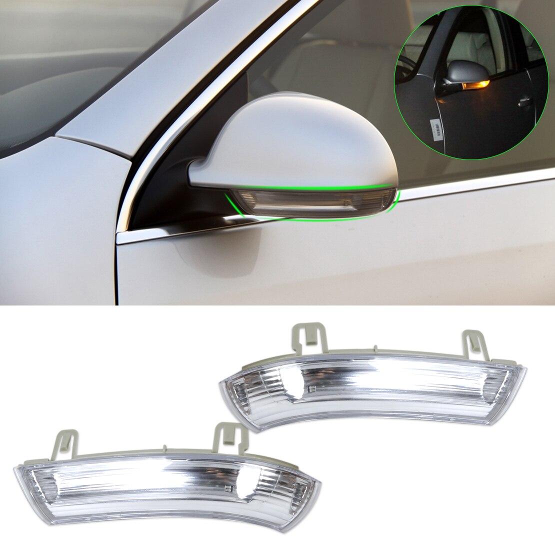 beler 2x Mirror Indicator Turn Signal Light 1K0 949 101,1K0 949 102 for VW GOLF GTI JETTA MK5 PASSAT RABBIT Skoda SUPERB SEAT
