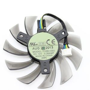 Image 4 - Nouveau 75 MM T128010SU 0.35A ventilateur de refroidissement pour Gigabyte GTX 670 680 760 Ti G1 GTX 770 780Ti ventilateur GTX Titan ventilateur carte vidéo refroidisseur ventilateur