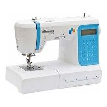 Швейная машина Minerva  DecorExpert (LED дисплей, автоматический нитевдеватель, регулировка длины стежка, поддержка двойной иглы, 207 видов строчки, зеркальное отображение строчек, подсветка)