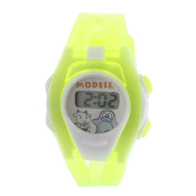 2016 Drop Shipping Clock 1PCS Kids Student Sport Time Clock Electronic Digital w