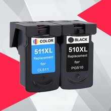 Compatible PG510 CL511 Ink Cartridge for Canon PG-510 CL 511 for PG510XL MP280 MP480 MP490 MP240 MP250 MP260 MP270 IP2700
