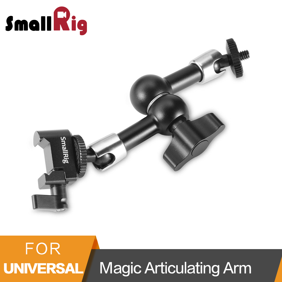 SmallRig Magic Articulating Arm (Nato Clamp - Quick Release Clamp ) for Monitor Support - 2028