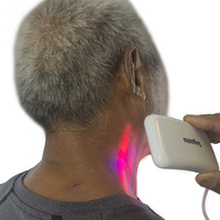 Red and Blue Laser Therapy, diabetes & hypertention therapy cold laser watch