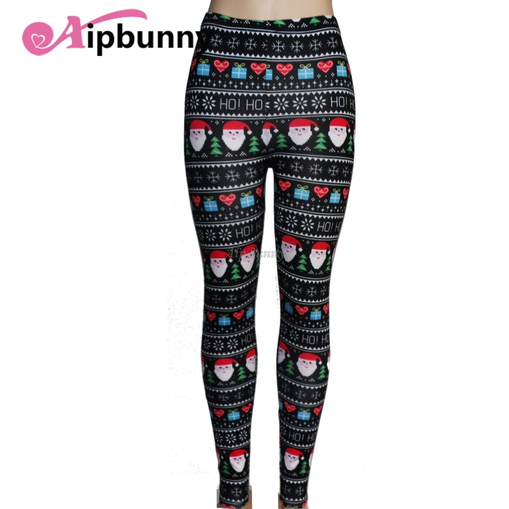 Gym Christmas Push Up Joggers Compression Tights Fitness Leggings Yoga Pants Running High Waist WomenS for Working
