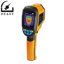 HT02 ручной термограф Камера инфракрасный Термальность Камера цифровой тепловизор Температура тестер с 2,4 дюймовый ЖК-дисплей Дисплей