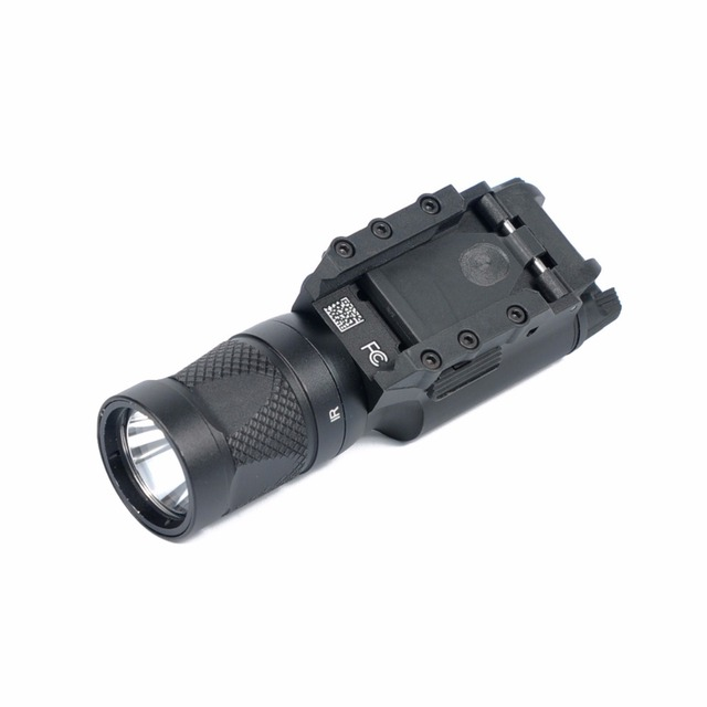 AIMTIS X300 Series X300V IR Flashlight Tactical LED Night Vision Weapon Light Glock 17 18 18C Pistol Armas Fit 20mm Rail