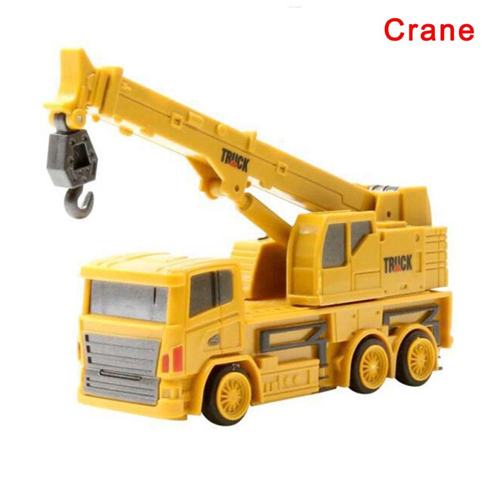 1: 64 Bulldozer Afstandsbediening Kraan Rc Vrachtwagens Ingenieur Legering Dumper Loader Bouw Voertuig