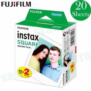 Image 4 - 10 100 ورقة Fujifilm Instax مربع الفورية الأبيض الأسود إطار الأفلام ل فوجي SQ10 SQ6 حصة SP 3 طابعة صور الكاميرا
