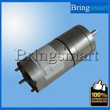 Bringsmart JGA25-370 DC Gear Motor Low rpm Motor 6V Robot High Torque Motor  12V DC Gear Motor