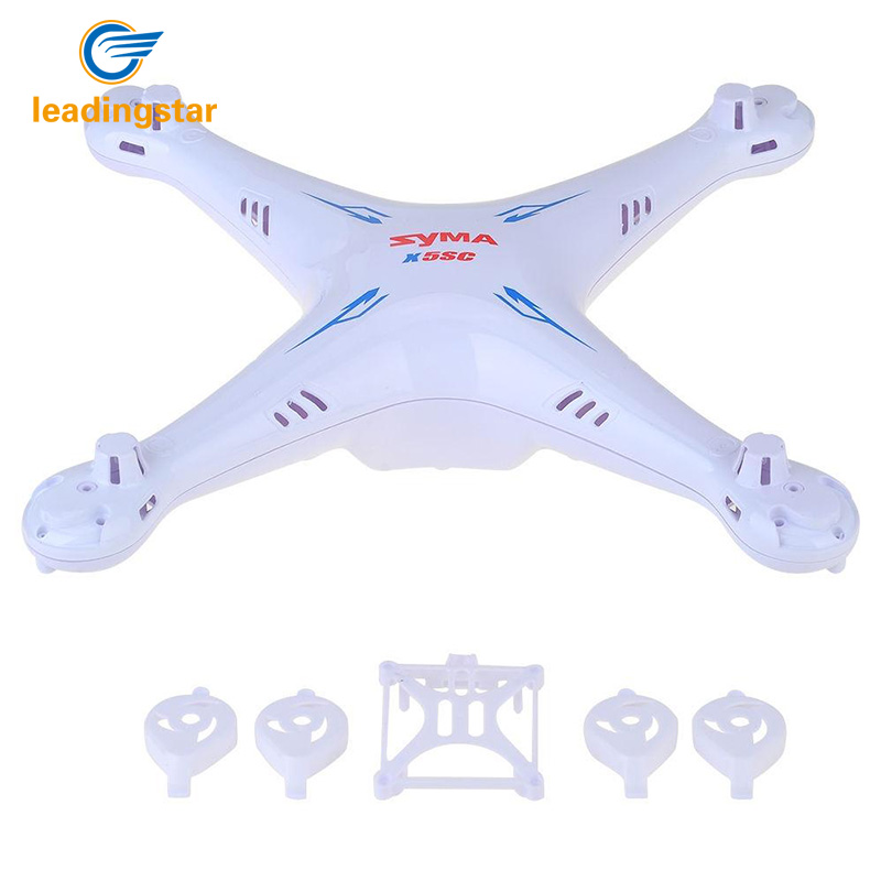 LeadingStar High Quality Body Shell Case Drone Spare Parts for Syma X5SC/X5SW RC Quadcopter zk40 syma x5s x5sc x5sc 1 x5sw x5sw 1 main body shell spare parts rc quadcopter drone motor and battery cover helicopter accessories
