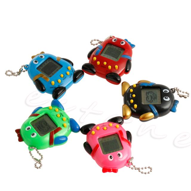 168Pets90S Nostalgic Virtual Cyber Digital Pet Tamagotchi E-pet Gift Toy Handheld