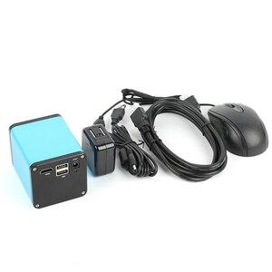 Image 3 - 2020 dönebilen eklemli kelepçe kol standı 200X Zoom objektifi SONY IMX290 otomatik odaklama sanayi HDMI ölçüm Video mikroskop kamera