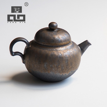TANGPIN japanese ceramic teapot handmade tea pot chinese kung fu with gifts box 200ml