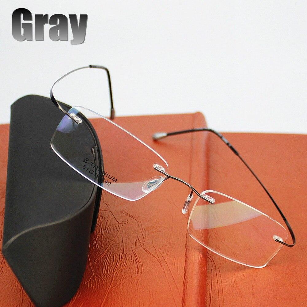 2015 neue titan marke brillengestell brillen männer frauen mit - Bekleidungszubehör - Foto 2