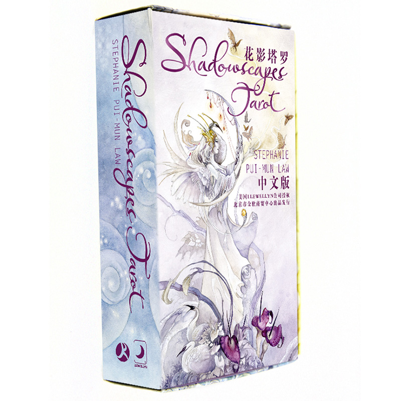 Shadowscapes Tarot Board Game High Quality Paper 78 PCS Cards Chinese/English Edition for Astrologer