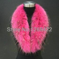 Freies einkaufen 2014 winter waschbären pelzkragen schalkragen waschbärpelz schal schalkragen artikel kappe allgemeinen rosa