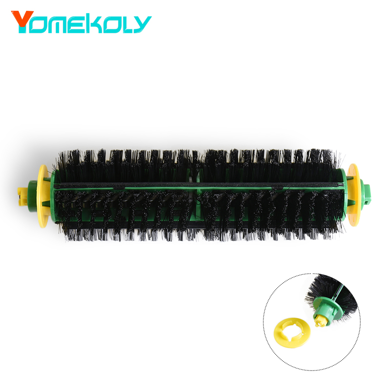 Bristle Brush for iRobot Roomba 500 Series 510  530 535 540 550 560 570 580 Vacuum Robots Replacements Cleaner Parts Accessory flexible beater brush for irobot roomba 500 series 510 530 535 540 550 560 570 580 vacuum cleaner parts accessory for home