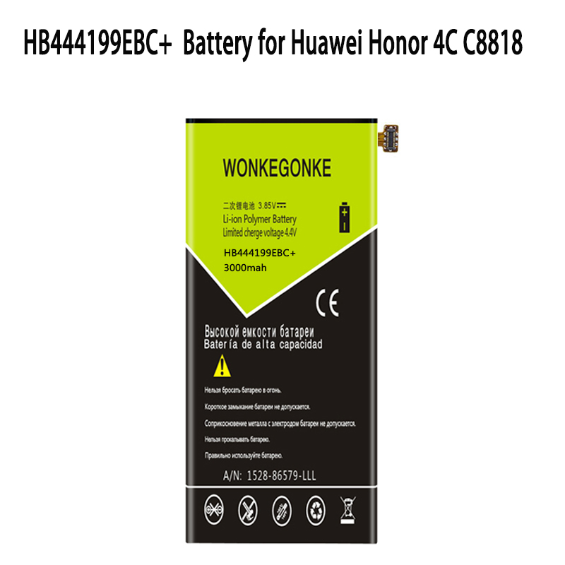 Enjoy 5 Honor 4c Pro 4000mah Replacement Batteries Free Tools Strong Packing Lovely Hua Wei Original Phone Battery Hb526379ebc For Huawei Y6 Pro