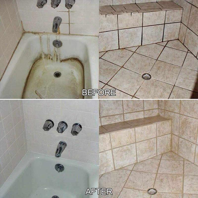 Kullanımı Kolay 1: 4L Ev Tuvalet Temizleyici v Temiz Nokta Çok Fonksiyonlu Efervesan Sprey Temizleyici Konsantre Klor Tabletleri