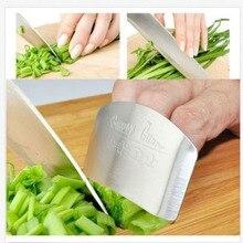 1 шт. защита для пальцев, не повредит руку, нержавеющая сталь, защита для рук, нож, инструменты для защиты пальцев