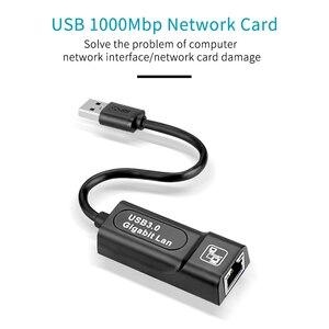 Image 3 - USB 3,0 2,0/Typc C USB Rj45 Lan Ethernet Adapter Netzwerk Karte zu RJ45 Lan Ethernet Adapter für Windows 10 Macbook Xiaomi Mi PC